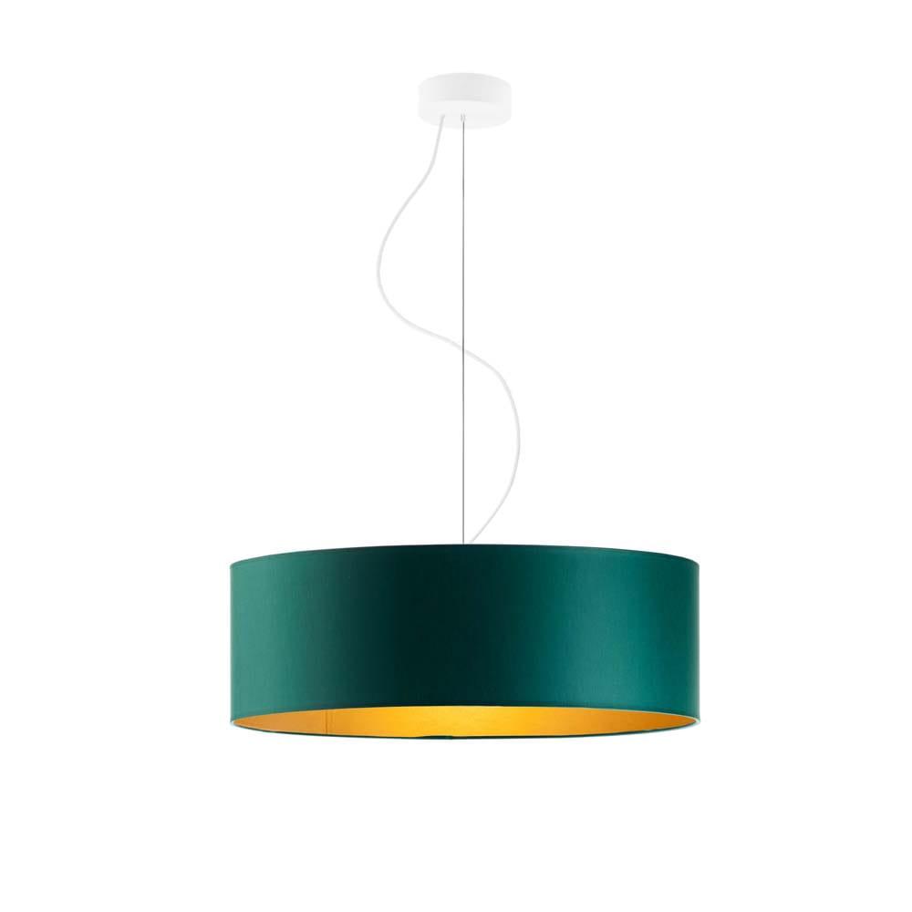 LAMPA WISZĄCA DO SALONU AMY GOLD fi 50 cm